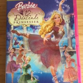 Barbie dvd  12 dansende prinsesser -fast pris -køb 4 annoncer og den billigste er gratis - kan afhentes på Mimersgade 111 - sender gerne hvis du betaler Porto - mødes ikke andre steder - bytter ikke