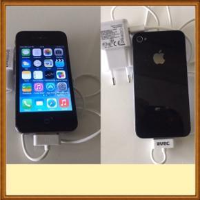 iPhone 4. 16.GB.Næsten som ny.                         Fejler intet.Virker 100%