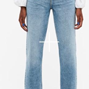 """Jeans fra monki i modellen """"zami"""", størrelse 27. Aldrig brugt, stadig med prismærke."""