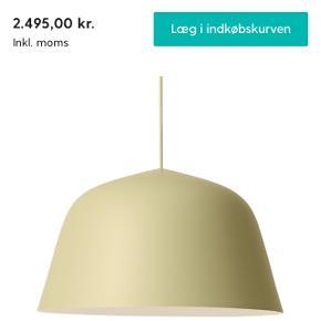 Smuk Muuto lampe. Helt ny, har aldrig været sat op