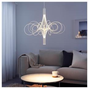 lånt billede fra google.  Kun hængt op..  Fra IKEA og LED beskrives som små Ildfluer