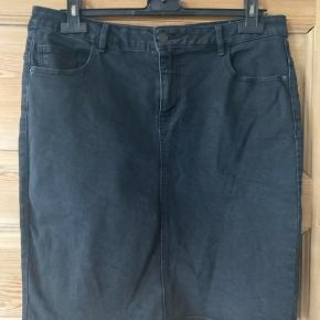 Gråsort denim