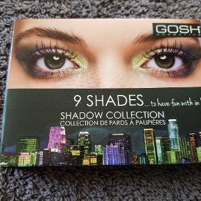 Ny og uåbnet eyeshadow palette fra Gosh.