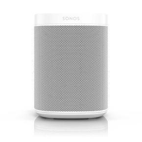 Sonos højtaler i hvid  Sat til i en måned