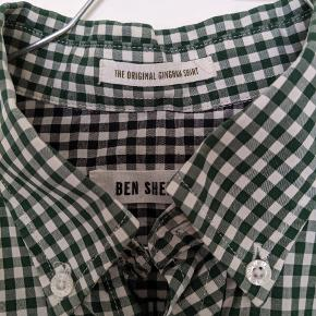 Ben Sherman  original ginham shirt str L  cond 07/10