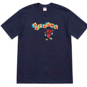 Supreme t-shirt SS19, str. M, aldrig brugt