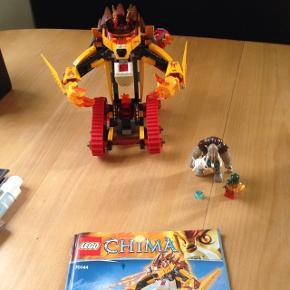 Min søn sælger ud af sit Lego chima da han ikke leger med det. De første 3 sæt er komplette Mp 75kr pr. Billede fuglen på sidste billede mangler der lidt tilbehør Mp 50kr på den. Afhentes 6752 Glejbjerg