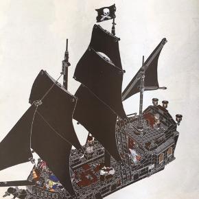 Piratskib The Black Pearl nr 4184 få brikker er udskiftet med nye Det hele er der samt samle vejledning Det hele fremstår som nyt Kan sendes / hentes Esbjerg 6715 Mp 1900 kr til salg på flere salgsider