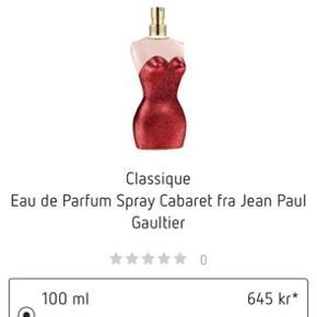 Jean Paul parfume næsten ikke brugt