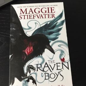 The Raven Boys - Maggie Stiefvater  Bogen er på engelsk