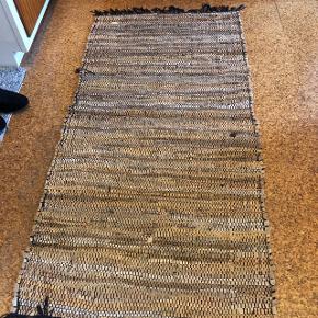 Læder gulvtæppe
