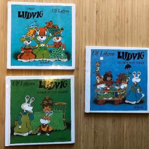 3 bøger af Ludvig serien. Bøger til de mindste