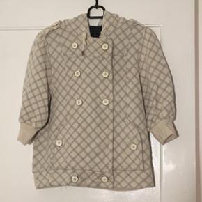Sweater med 3/4 ærmer og lynlås fra Marc Jacobs i str. M.