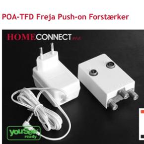 POA-TFD Freja forstærker  Helt ny- i Orginal kasse  Nypris:499.-kr  Sælges for kun  :350.-kr