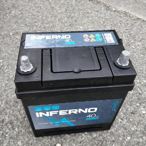 40 Ah bilbatteri