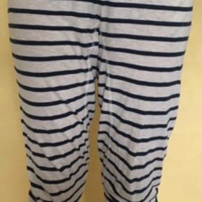 Blå/hvid stribet bukser fra Moshi moshi💙