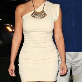 American apparel kjole i beige