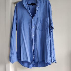 Blød, tynd 100%bomuldsskjorte
