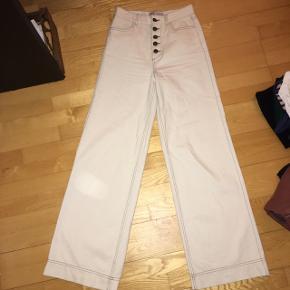 Wide leg jeans fra Zara. Desværre for små til mig.