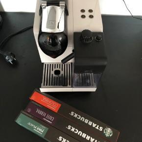 Sælger min Nespresso maskine inkl nogle kapsler, virker som den skal☕️👍🏼  Jeg sender ikke!