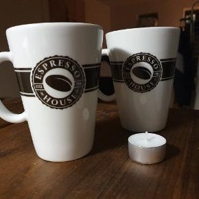 Large standard cups from Espresso House. Price is per cup - 1 for 50 DKK.