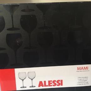Sælger 10 stk. af disse Alessi rødvinsglas, BYD 😊