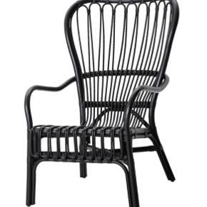 God stol i god stand sort hynde/pude følger med😀