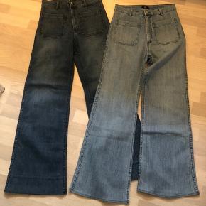 Du læste rigtigt: 2 par jeans for 110kr.  Der skal ryddes op.  Kig godt på billederne og se om det er noget for dig.