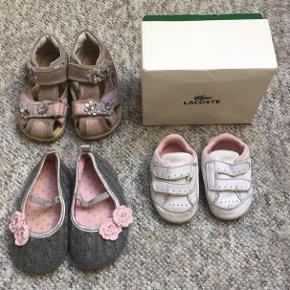 5690308bd25 Str. 16. 1. Babysko · Lacoste super søde sko til baby, på snuden er der  skrabet lidt farve af str