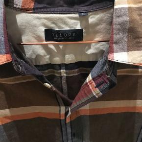 Velour skjorte
