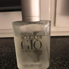 Giorgio Armani aftershave.