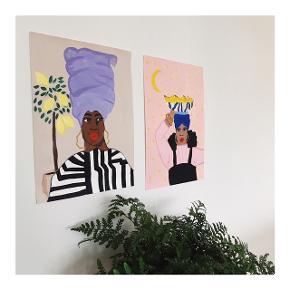 Håndmalet portræt trykt på svanemærket papir og kan meget snart købes! Følg ByLeEuropa på Instagram for at blive opdateret så snart de er på lager, eller følg med her.