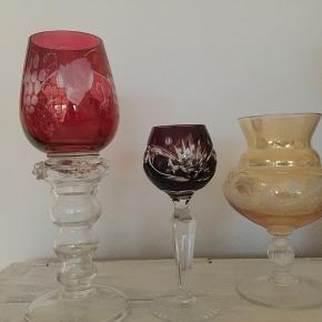 Bøhmisk krystal glas 200kr stk