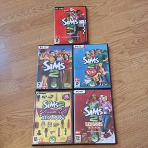 Sims 2 og sims 2 udvidelsespakker Byd