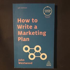 How to write a Marketing plan, 5. Udgave af John Westwood  BYD