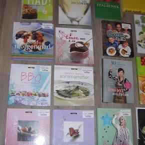 Forskellige kogebøger sælges. 20,- per stk. kan lave en rigtig god pris på dem samlet.