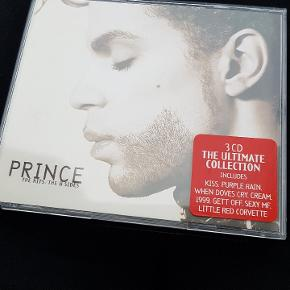 Prince 3 cd box. The hits / The B-sides. The ultimate collection. Afhentes i Stige.