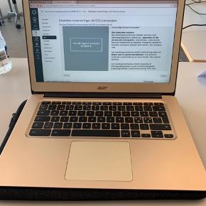 """Chromebook 14"""" sælges fra oktober 2018. I perfekt stand, da den næsten ikke er blevet brugt."""