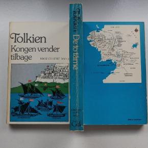 Tolkien Ringenes herre 1, 2 og 3 Flot udgave fra Gyldendals bogklub. Bøgerne har flot patina, og er i fin stand.  Sælges samlet, og kan hentes på Vestervro