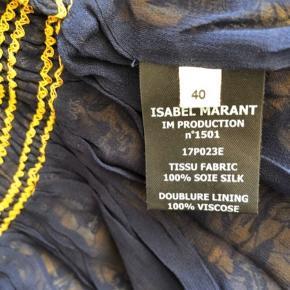 Sælger denne flotte isabel marant nederdel i silke str 40 og passende