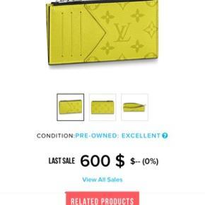 Louis Vuitton kort holder Udsolgt i hele verden  Kvittering box osv haves  Mp 2000kr er åben for trades