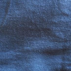 Lækkert blødt lyseblåt tørklæde:)   - Brugt et par gange, (ses ikke).  - Lidt lysere end på billederne, men stadig        super smuk.  (Kom endeligt med bud)