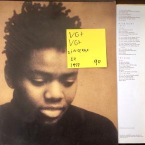 Tracy chapman st vinyl lp til grammofon fed plade en samling gode numre