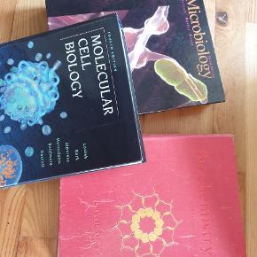 Gamle lærebøger fra kemi-mol. biologi på Aarhus uni. Ganske gratis. Skal dog afhentes i Kolding evt. Fredericia.