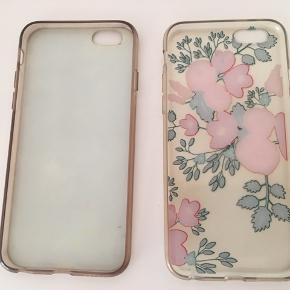 2 iPhone 6S covers sælges. De er begge godt brugte, men fremstår fine og uden brud. Sælges samlet.
