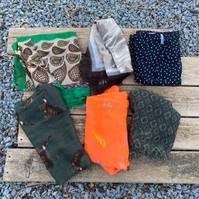 Lækre tørklæder 35 kr pr stk
