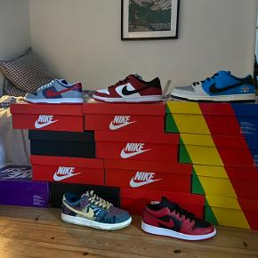 Nike Dunk Low Chicago Str 40.5, 41, 43 og 45 haves Alle er helt nye