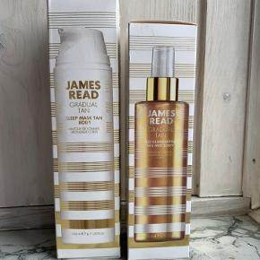James Read gradual tan James Read sleep mask tan