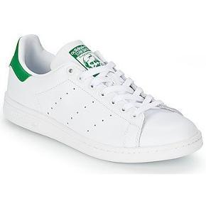 Helt nye Adidas Stan Smith, hvid/Grøn str 43 1/3, har aldrig været brugt.