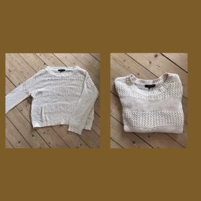 Fin retro sweater med en masse mønster.